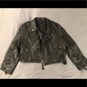 Topshop Moto Jacket - US 4